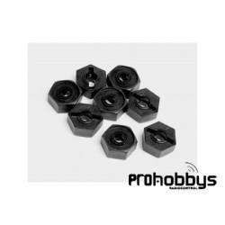 Hexagono rueda (8 Uds) (XB10/MT10/ Megane) Ninco