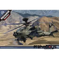 Helicóptero British AH-64D Afghanistan 1/72 Academy