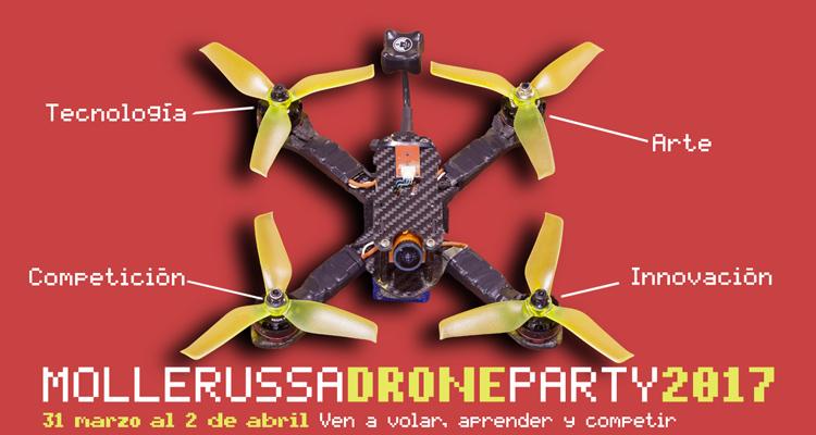 Mollerussa Drone Party 2017: los drones